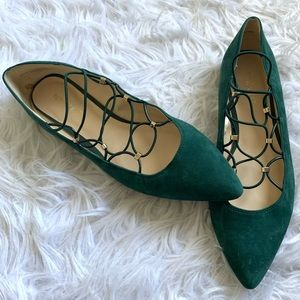 Nine West | Okfineo suede pointed toe flats